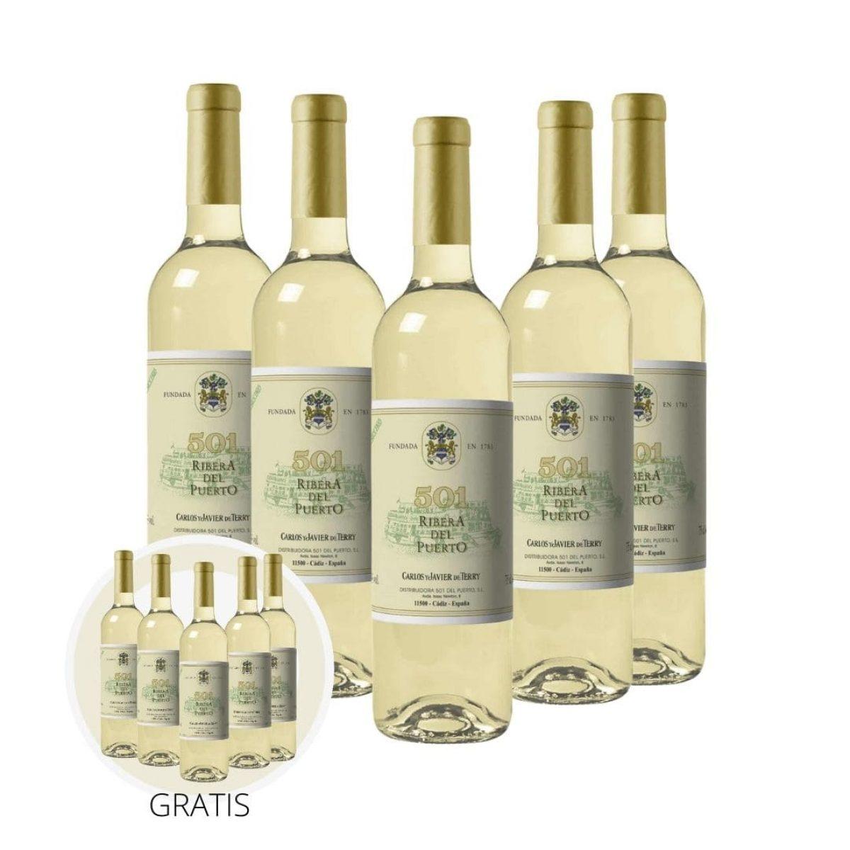 Pack vino blanco Ribera del Puerto